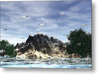 The Island Metal Print by Jacqueline Lloyd