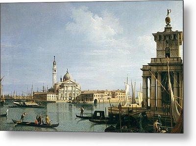 The Island Of San Giorgio Maggiore Metal Print by Canaletto