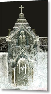Metal Print featuring the photograph The Italian Vault 2 by Terry Webb Harshman