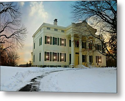 The Jay House Circa 1836 Metal Print by Diana Angstadt