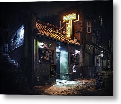 The Jazz Estate Nightclub Metal Print