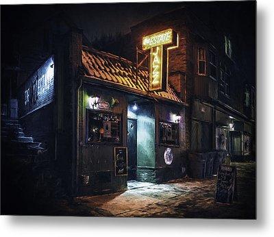 The Jazz Estate Nightclub Metal Print by Scott Norris