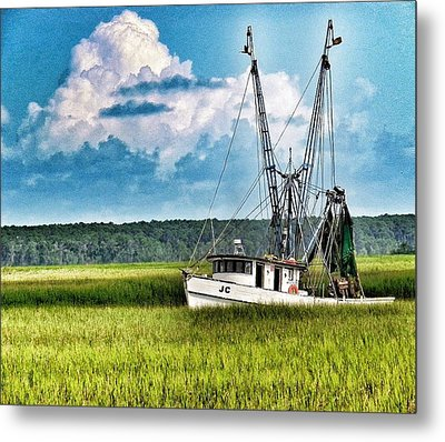 The Jc Coming Home Metal Print by Patricia Greer