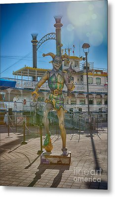 The Jester Metal Print by Kay Pickens