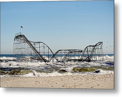 The Jetstar Remembered- 2012 Metal Print by  Tina McGinley