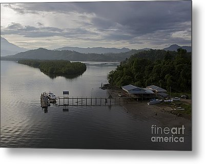 Metal Print featuring the photograph The Jetty  by Gary Bridger