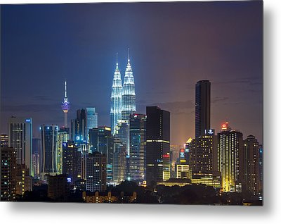 The Jewel In The City Metal Print by Ng Hock How