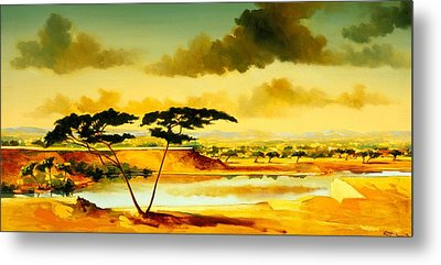 The Jewel Of Hlubluwe Metal Print by Andrew Hewkin