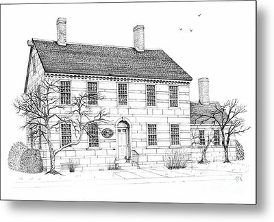 The Jillson House Metal Print