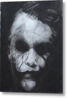The Joker Metal Print by Aaron Balderas