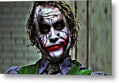 The Joker Metal Print by Florian Rodarte