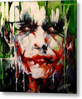 The Joker Metal Print by Lorna Stephens