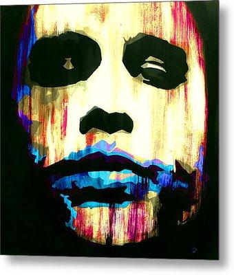 The Joker Why So Serious Metal Print by Brad Jensen