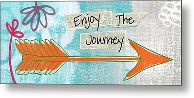 The Journey Metal Print by Linda Woods
