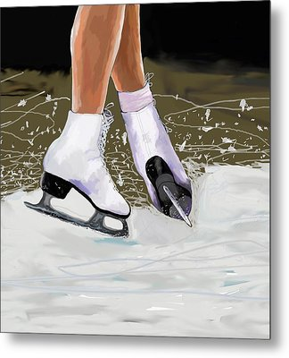 The Jump Metal Print by Jeanne Fischer