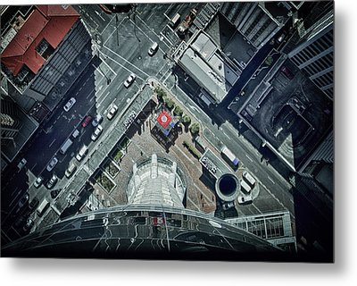 Metal Print featuring the photograph The Jump by Kim Andelkovic