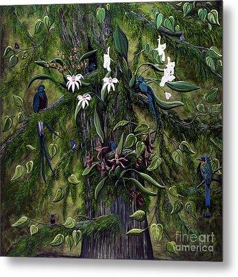 The Jungle Of Guatemala Metal Print by Jennifer Lake
