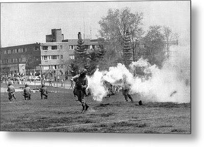 The Kent State Massacre Metal Print