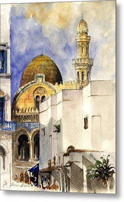 The Ketchaoua Mosque Metal Print by Juan  Bosco