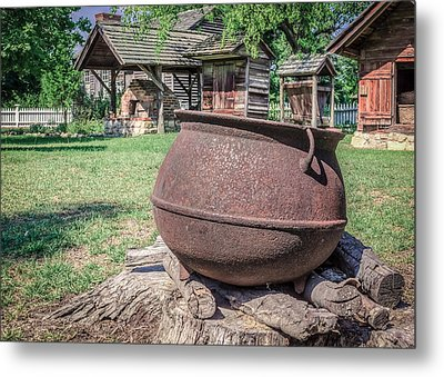 The Kettle Metal Print