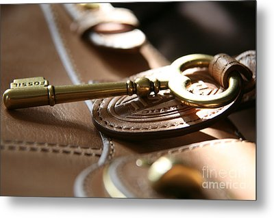Metal Print featuring the photograph The Key II by Lynn England