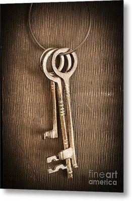 The Keys Metal Print by Edward Fielding