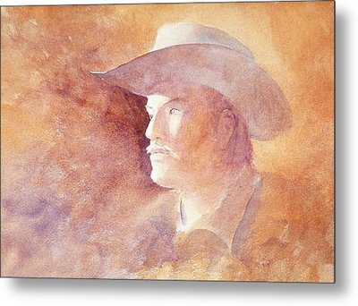 Metal Print featuring the painting The Kid by John  Svenson