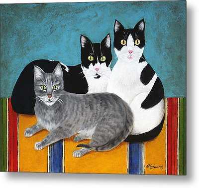 The Kids Metal Print by Marna Edwards Flavell