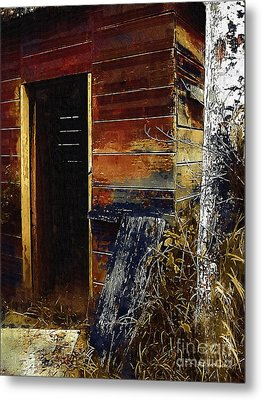 The Killing Shed Metal Print by RC DeWinter