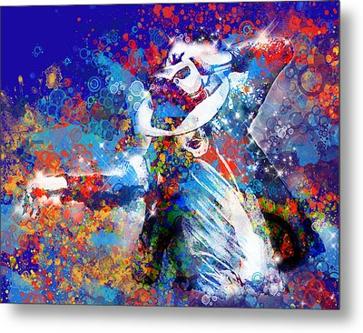 The King 3 Metal Print by Bekim Art