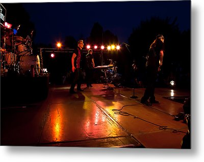The Kingpins Rock The Night Away Metal Print