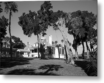 The Kingsley Plantation Metal Print by Lynn Palmer