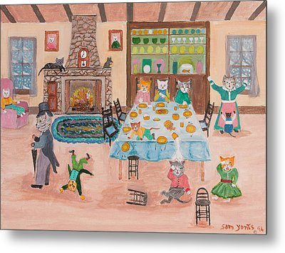 The Kittletons No School Today Metal Print by Sam Yonts