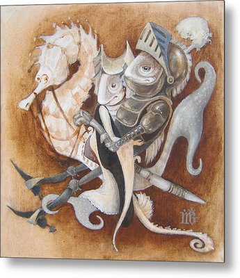 The Knight Tale Metal Print