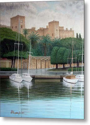 The Knights Castle Metal Print by Anastassios Mitropoulos