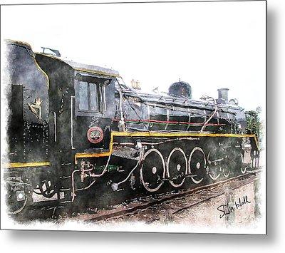 The Knysna Train Metal Print