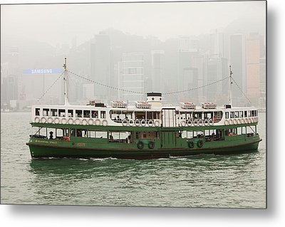 The Kowloon-hong Kong Ferry Metal Print by Ashley Cooper