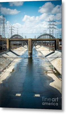 The La River Metal Print