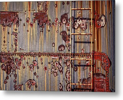 The Ladder Metal Print by Marcia Colelli