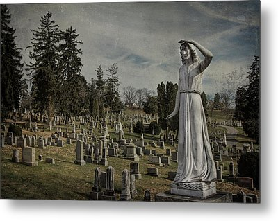 The Lady Of Perpetual Care Metal Print by Jemmy Archer