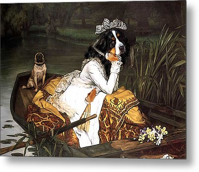 The Lady Of The Lake Metal Print