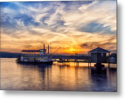 The Lady Of The Lake Metal Print by Mark Papke