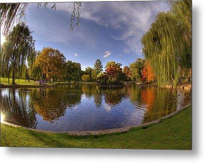 The Lagoon - Boston Public Garden Metal Print by Joann Vitali