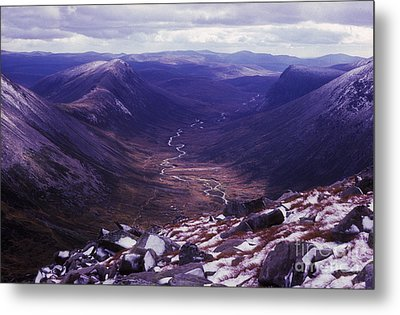 The Lairig Ghru - Cairngorm Mountains - Scotland Metal Print