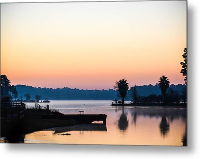The Lake Before Sunrise Metal Print
