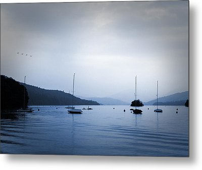 The Lakes Metal Print by Martin Newman
