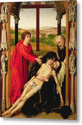 The Lamentation Of Christ Metal Print