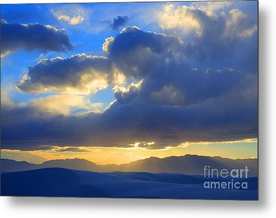 The Land Of Enchantment Metal Print by Bob Christopher