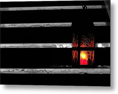 The Lantern Metal Print by Marwan Khoury