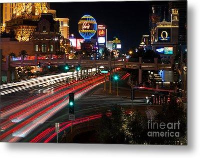 The Las Vegas Strip Metal Print by Eddie Yerkish